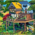 lotsbymanal's Pond Tree House
