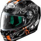 X-Lite X-803 Ultra Carbon Replica A. Canet integral helmet - Black/Grey/Orange - XXL