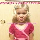 My Easy DIY 5 Minute Layered Haircut   Practical Stewardship