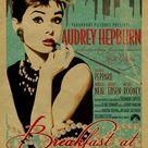 Audrey Hepburn in Breakfast at Tiffany's poster