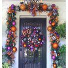 Halloween Front Doors