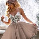 Short Sexy Homecoming Dress Lace Bodice Spaghetti Straps V Neck Mini Prom Party Dresses,SF0010
