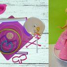 Prinzessinnen Kuchen Backform zur Miete inkl. 2 versch Puppen