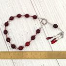 Pocket Prayer Beads for the Furies (Semnai Theai, Eumenides, Erinyes): Greek Goddesses of Retribution and Righteous Vengeance