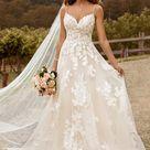 Sophia Tolli Y22051 Nikita Spaghetti Strap Wedding Dress