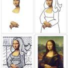Mona Lisa Line Art · Art Projects for Kids