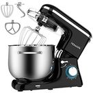 Howork Stand Mixer 8 45 Qt Bowl 660w Food Mixer Multi Functional Kitchen Electric Mixer With Dough Hook Whisk Beater