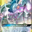Carta Pokémon Arceus Dialga E Palkia Gx Eclipse Cósmico - R$ 107,91