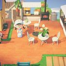 Made a outdoor small lil cafe, Nooks cranny cafe ! ;;