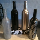 Empty Wine Bottles