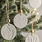 Scandi Christmas Decorations, Scandinavian Style Christmas Decorations