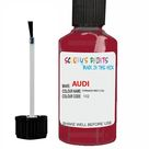 Audi A4 Tornado Red Code 132 Touch Up Paint Scratch Stone Chip Repair