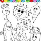 coloring book vector free download