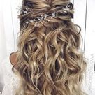 30 Chic Bridal Hairstyles for Your Special Day in 2020   Wedding hairstyles for long hair, Wedding h