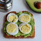 Boiled Egg Sandwich