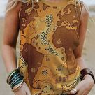 Sleeveless Abstract Tanks & Camis - Noracora