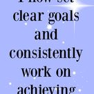 Affirmations to help achieve your goals | Morning Business Chat