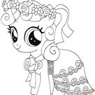 My Little Pony Sweetie Belle from My Little Pony - My Little Pony Games