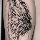 Wolf Tattoos: Meanings, Tattoo Styles & Placement