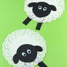 Doily Sheep Craft