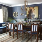 Navy Dining Rooms
