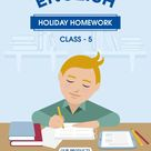Download CBSE Class 5 English Holiday Homework in PDF