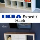 Ikea Hack: Expedit TV Stand (non-toxic!)   Primal Palate   Paleo Recipes - Primal Palate   Paleo Recipes