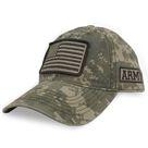 Army Digi Camo Flag Hat Camo