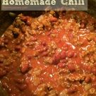 Homemade Chili Recipes