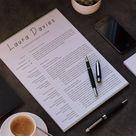 Teacher Resume | Resume Template | Modern Resume | Creative Resume | Professional Resume | Word CV + Cover Letter | 1, 2 Page Resume | CV