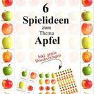 Apfel Themenwoche  Plus Download   Montessori Blog & Shop   MontiMinis