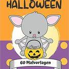 Halloween: 60 Malvorlagen: Ausmalbuch für kreative Kids und zum Entspannen - Malbuch für Kinder ab 4 Jahren
