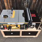 DWE7492 Untergestell selber bauen - mit Frästisch
