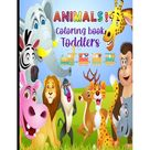 Animals Coloring Book for Toddlers, Kindergarten and Preschool Age: Big book of Pets, Wild and Domestic Animals, Birds, Insects and Sea Creatures Coloring (Paperback)