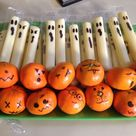 mandarin pumpkins healthy halloween snack