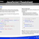JavaScript Cheatsheet   Comprehensive PDF included
