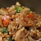 Chicken Teriyaki fried rice #chicken #teriyaki #fried #rice