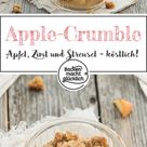 Apfel-Crumble mit Haferflocken (Apple Crumble)