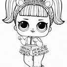 Раскраски ЛОЛ - Распечатайте кукол из всех серий бесплатно