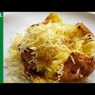 JACKET POTATO Microwave | Oven baked potatoes | How to make  recipe