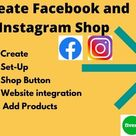 Fiverr - Create facebook and instagram shop and will add products on your shop by Mir_snigdho