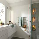 Wandgestaltung im Bad mit Anti-Schimmel-Wirkung