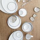 Salt plate without dots from Broste Copenhagen