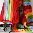 Rainbow Crochet Blankets