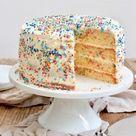 Konfetti Torte - Konfetti Kuchen - Rezept - Sweets & Lifestyle®