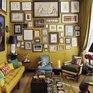 Mustard Living Rooms