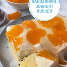 Mandarinen-Joghurt-Kuchen vom Blech
