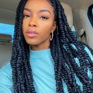 27 Beautiful Passion Twists & Spring Twists Hairstyles To Obsess Over - Hello Bombshell!