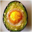 Egg Baked In Avocado