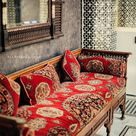 LOVE THIS STUNNING SEAT, UPHOLSTERED IN WHAT LOOKS LIKE 'TAPESTRY! – THE COL… - Upholstery Ideas